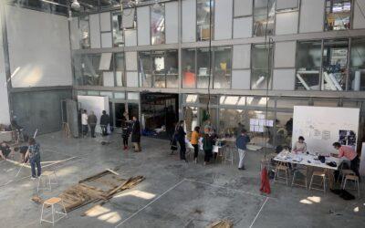 Visite de l'École nationale supérieure d'art de Limoges
