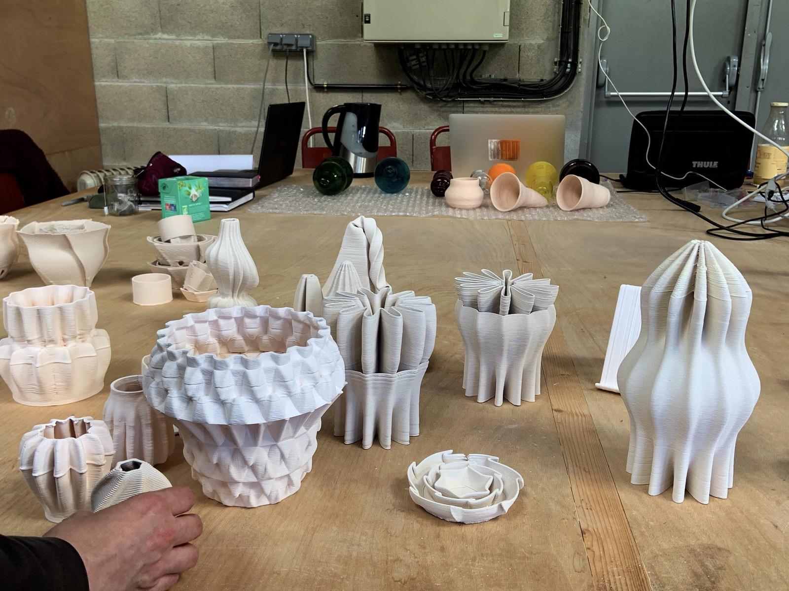 Impression 3D à l'école nationale supérieure d'art de limoges.
