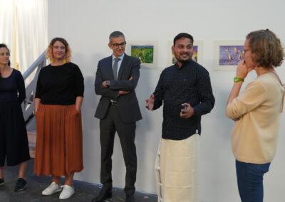 """Vernissage """"Derrière la façade"""" - Sunil Lohar"""