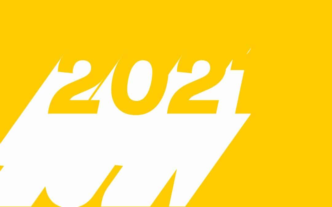 Nous vous souhaitons une belle et lumineuse année 2021 !